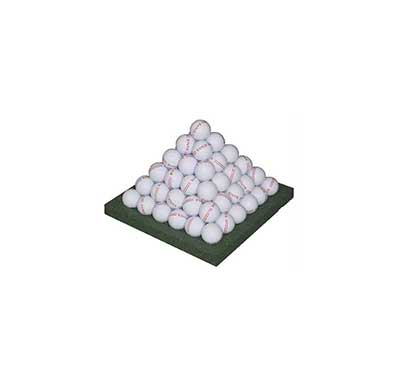 Ball pyramid base frame