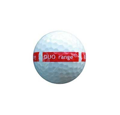 2-piece DUO range ball White 90 Compression