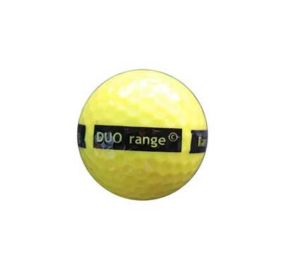 2-piece DUO range ball Yellow 90 Compression