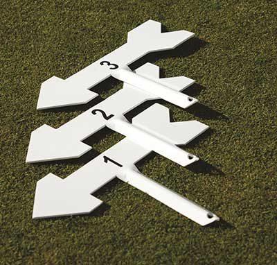 Arrow with Ground Stake