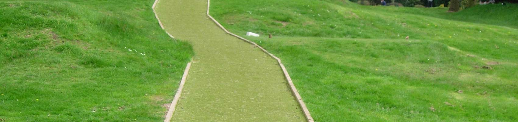 Artificial Turf Pathway for Golf Course