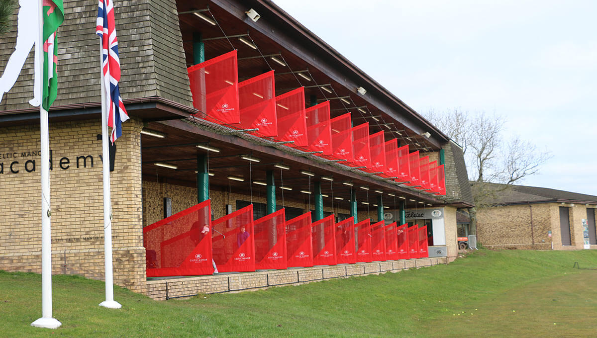 Celtic Manor Driving Range Dividers