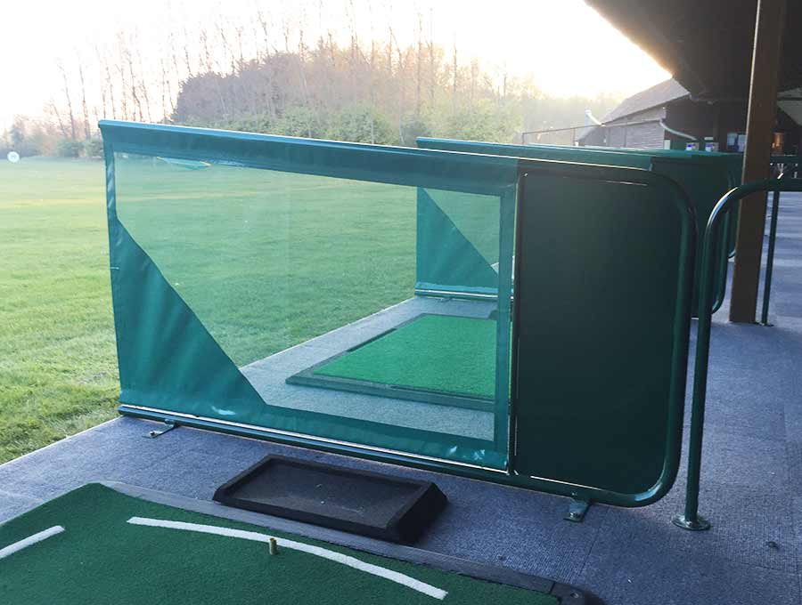 Chichester Golf Club Metal Rear Plate Netted Dividers