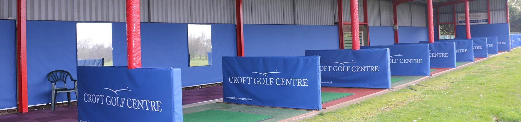 Croft Golf Centre Driving Range Refurb