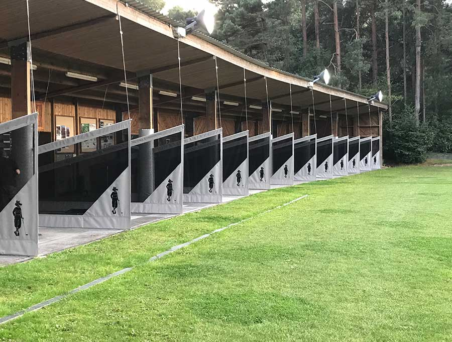 Foxhills Driving Range Refurbishment