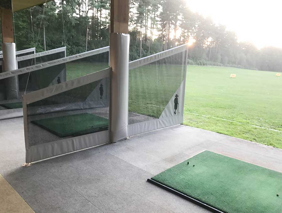 Foxhills Driving Range Bay Dividers
