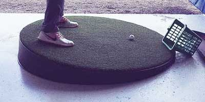 Hill Trainer Golf Driving Range Mat