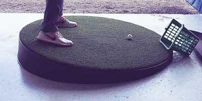 Hill Trainer Golf Driving Range Mat