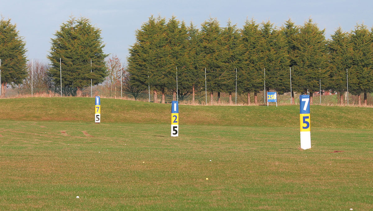 Ladder Distance Markers at the Vale Golf and Country Club