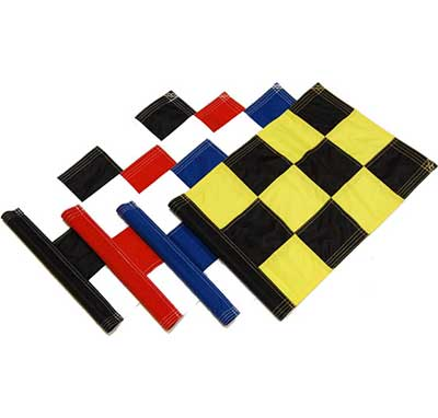 Sewn Chequered Golf Flags