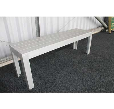 Silver Bench Driving Range Furniture