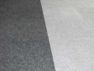 Spike Range Carpet Tiles Anthracite with Steel Grey