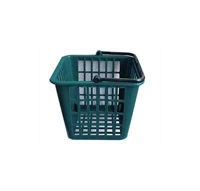 Square plastic basket