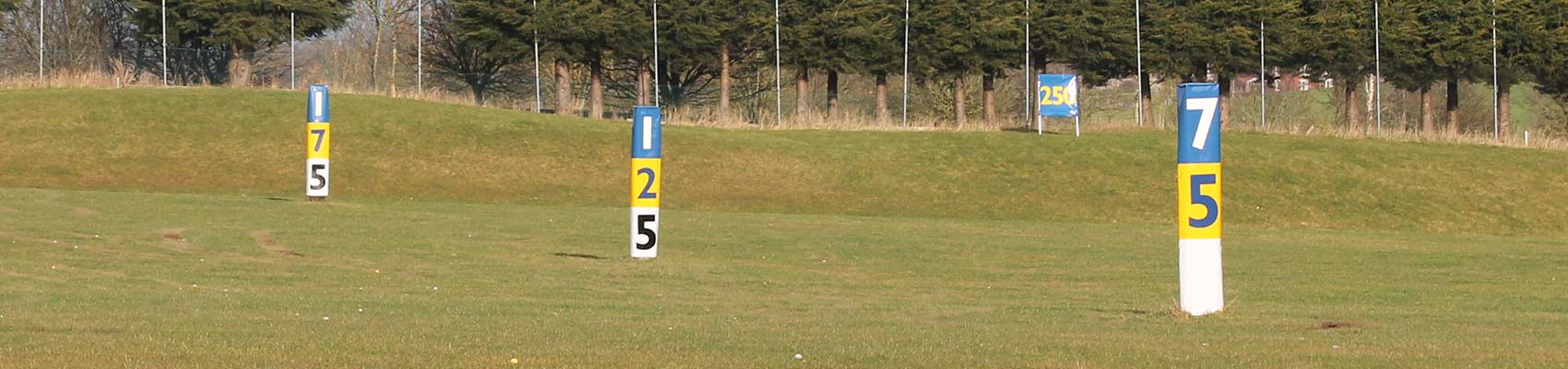 Tower Distance Markers for driving range