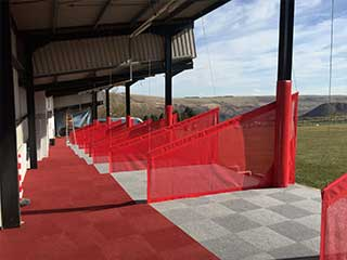 Valleys Golf Centre Driving Range Carpet Tile Flooring