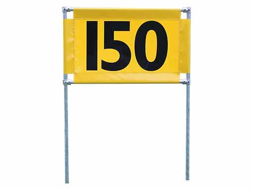 Yellow 150 Horizontal Marker
