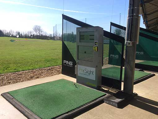 Abbey Hill Golf Centre Driving Range Bay