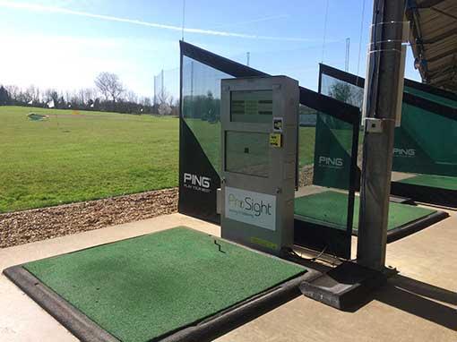 Abbey Hill Golf Centre Driving Range Bay