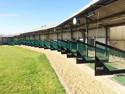 Abbey Hill Golf Centre Driving Range