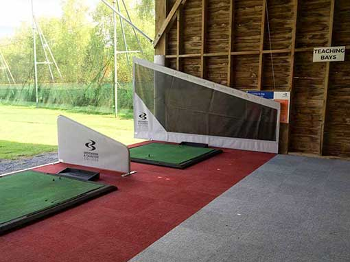 Cannington Golf Course Driving Range Refurbishment Teaching Bays
