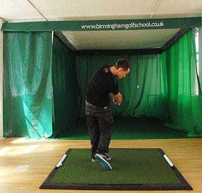 Indoor Hitting Golf Enclosure