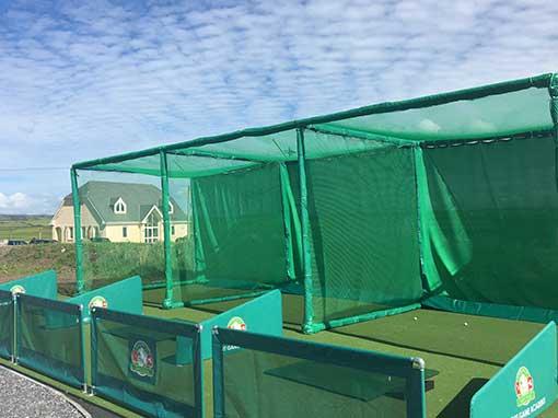 Triple Bay Outdoor Golf Enclosure Range Solutions
