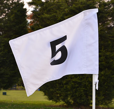 Numbered Golf Flags Range Solutions