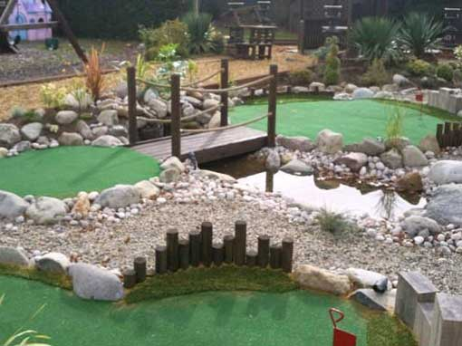 9mm non sand filled putting green