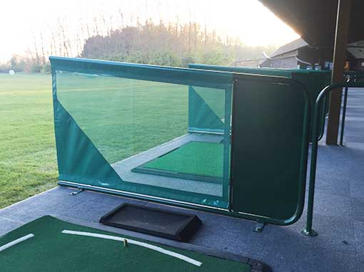 Chichester Golf Club Metal Rear Plate Divider