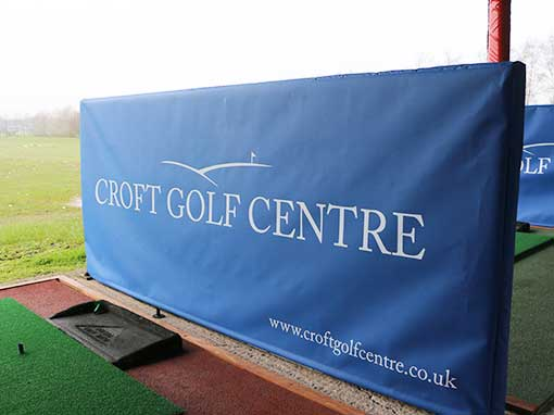Croft Golf Centre Bay Divider Covers