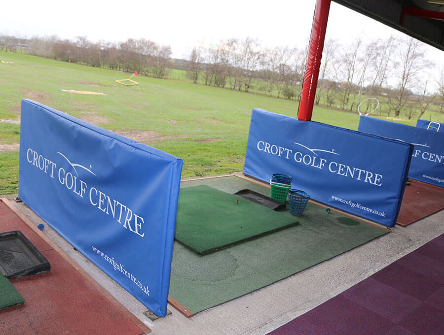 Croft Golf Centre Bay Covers