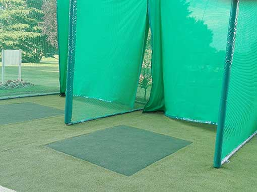 Double Bay Outdoor Golf Hitting Enclosure