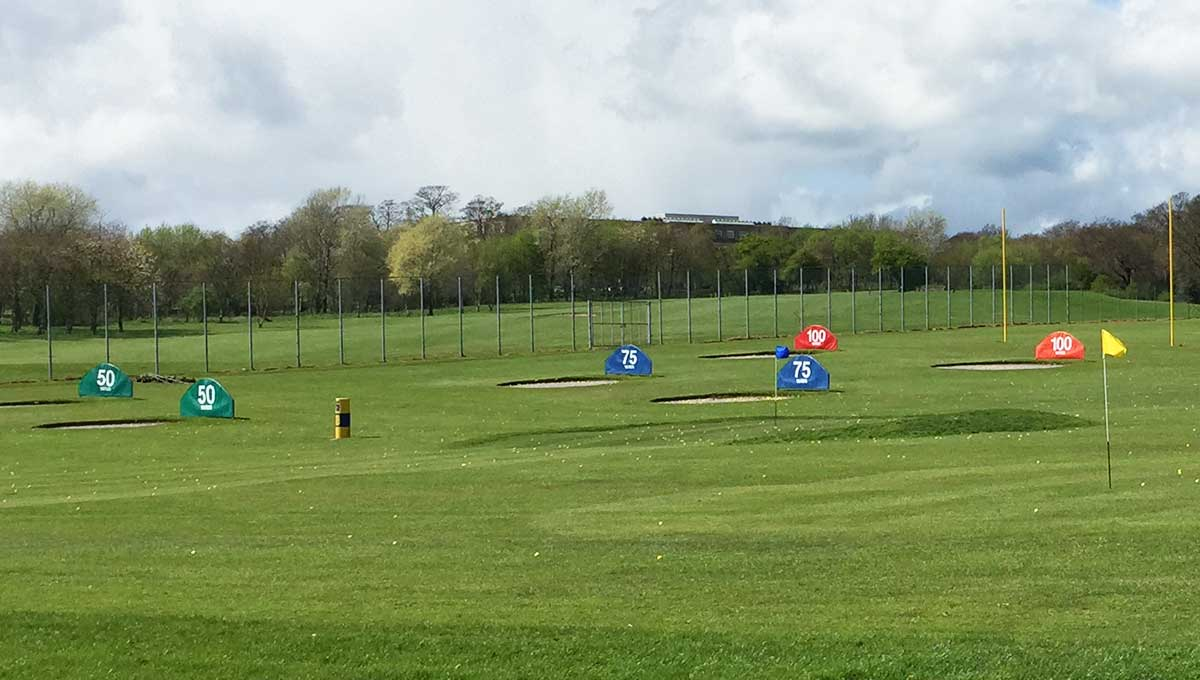 Express Golf Driving Range Outfield