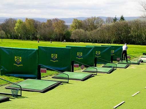 Heswall Golf Club PVC driving range cover