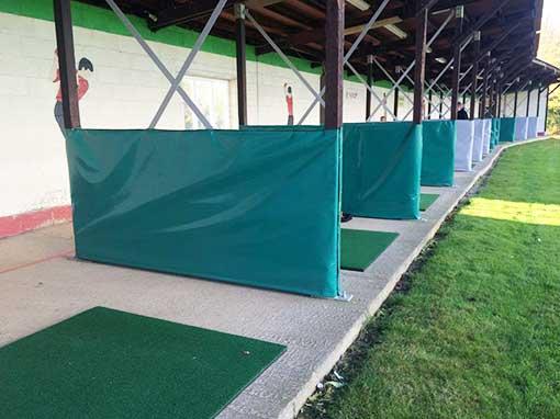 Sandhill Golf Range Bay Divider Covers