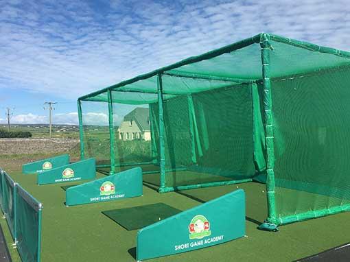 Triple Bay Outdoor Golf Enclosure