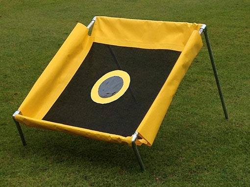 Yellow Square Chipping Net