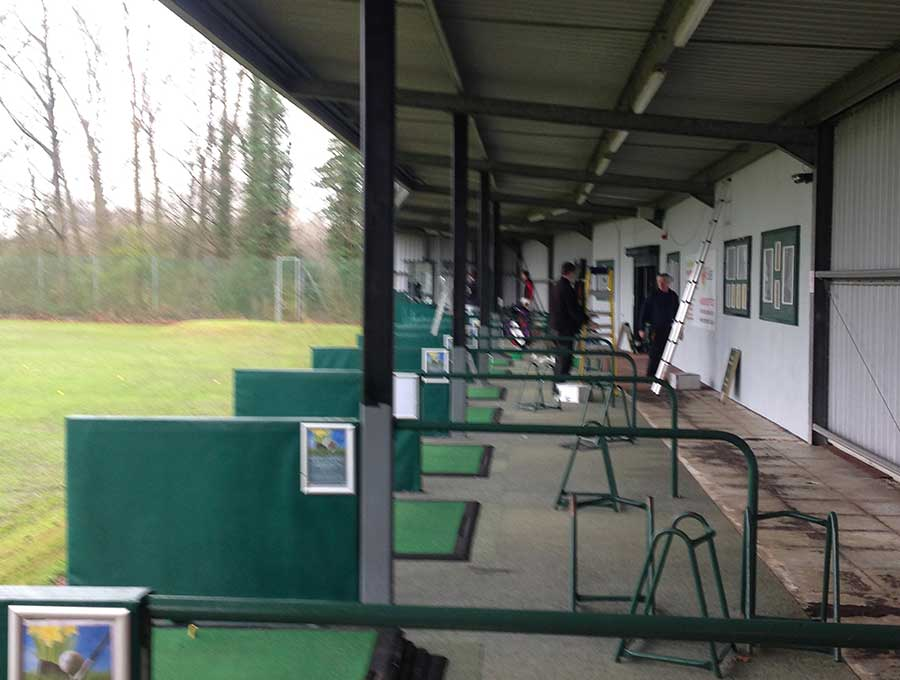 Branston picture 1 - Before Driving Range Refurbishment