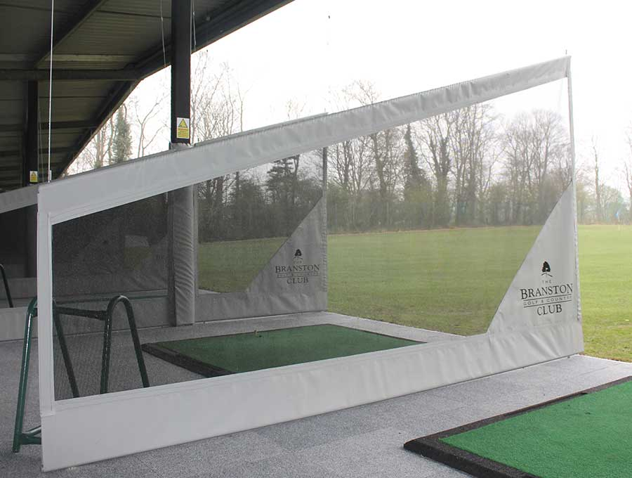Branston picture 2 - Before Driving Range Refurbishment