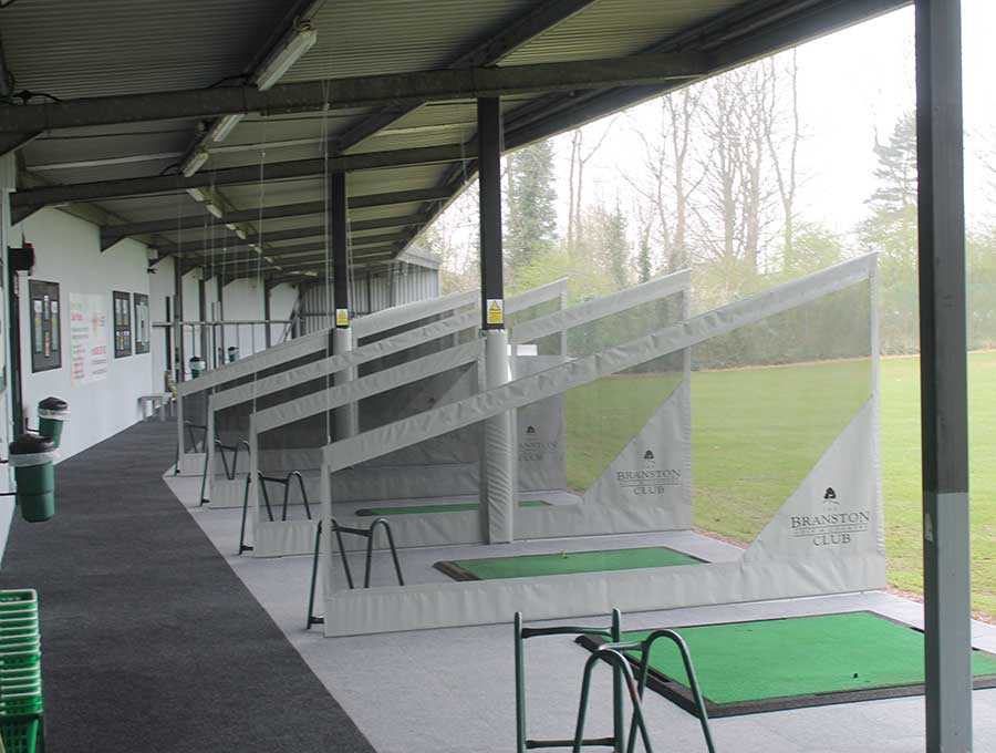 Branston picture 1 - After Driving Range Refurbishment