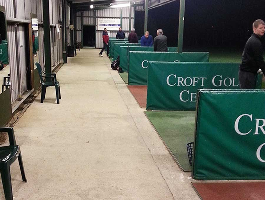 Croft Golf Centre picture 1 - Before Driving Range Refurbishment