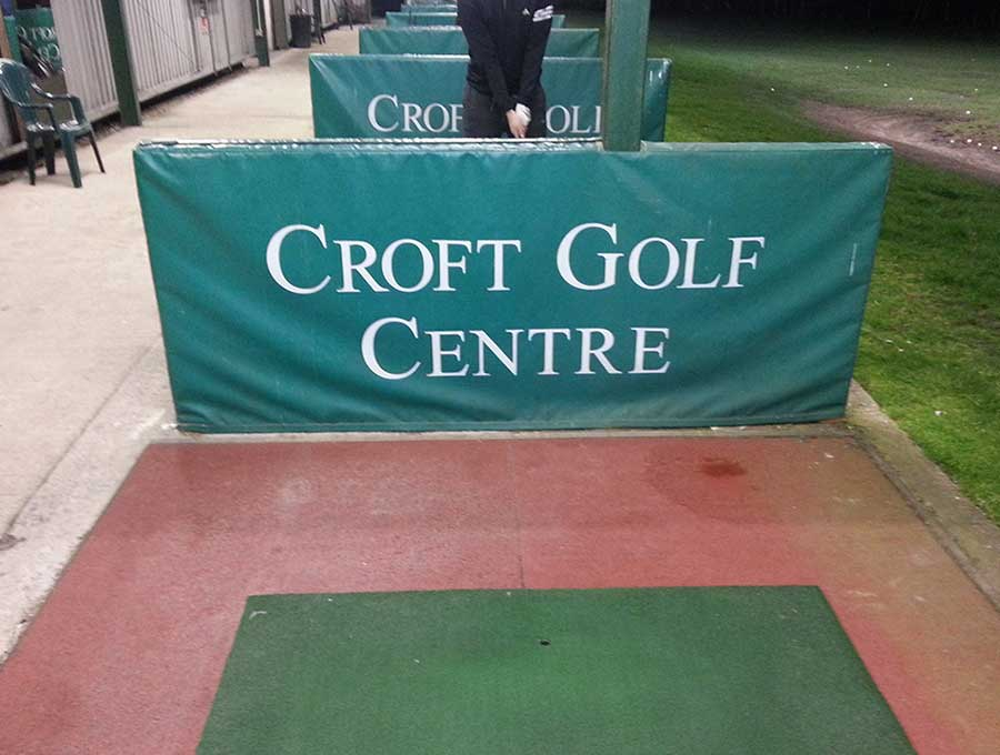 Croft Golf Centre picture 2 - Before Driving Range Refurbishment