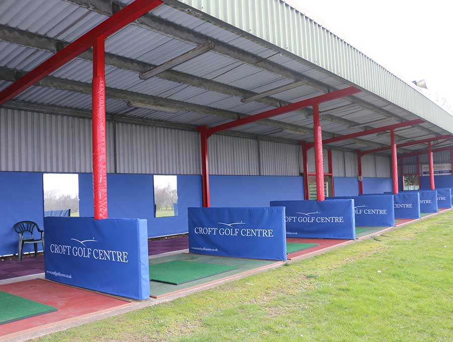 Croft Golf Centre picture 2 - After Driving Range Refurbishment