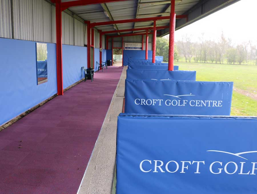 Croft Golf Centre picture 1 - After Driving Range Refurbishment