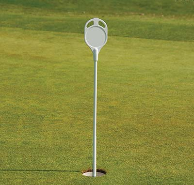 Plastic Disc Putting Green Flag