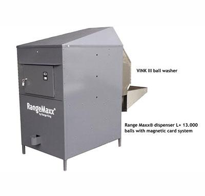 Vink III washer with Range Maxx Dispenser
