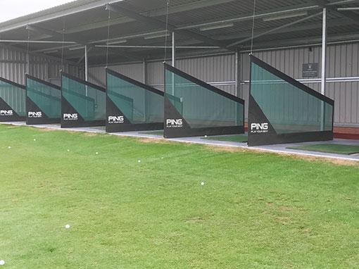 Buckingham Golf Club Front of Driving Range