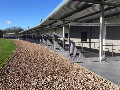 Pachesham Golf Centre Driving Range Refurbishment