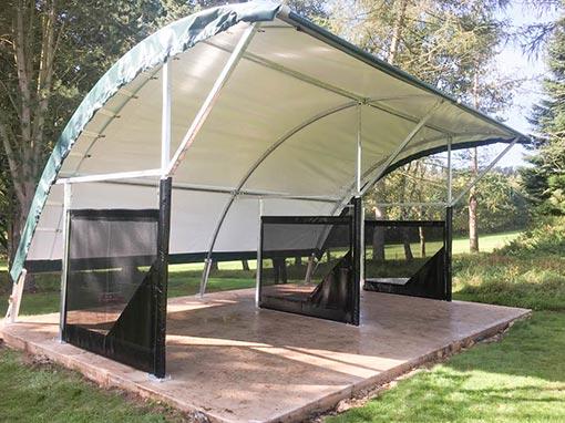 Churchill and Blakedown Golf Club RangeBay Installation