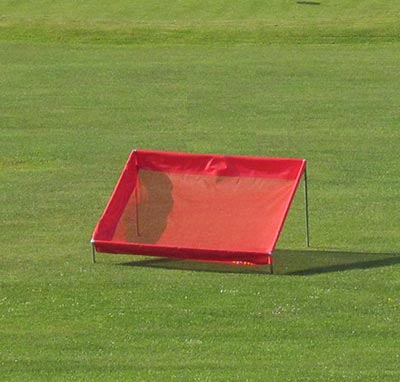 2m square chipping net red